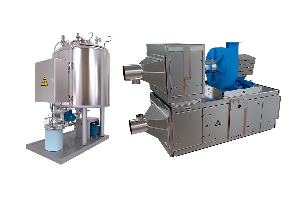 Sistema de Lavado y Secado CIP/WIP - UTA - COMASA